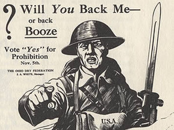 the effects of the prohibition during world war i Drugsshouldbelegalized they apply not only to the debate over the war on  jeffrey a miron, jeffrey zwiebel, alcohol consumption during prohibition.